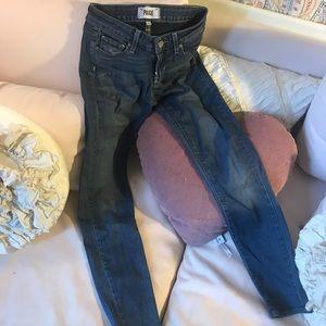Paige skinny jeans